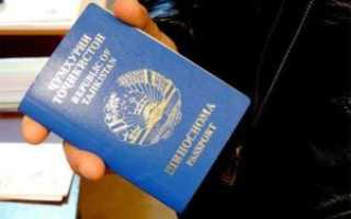 Как получить РВП иностранным гражданам Таджикистана в РФ в 2020