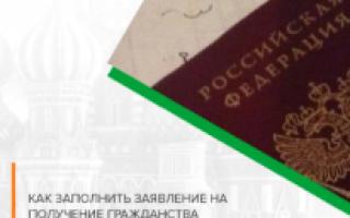 Справка о приеме заявления на въезд в РФ в 2020 году