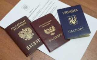 Получение статуса беженца в РФ для жителей Донбасса в 2020 году