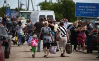 Вынужденные переселенцы в России в 2020 году