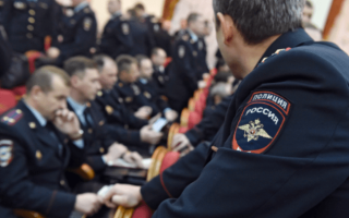 Зарплата полицейского в России: по регионам и званиям
