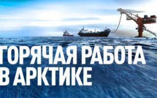 Работа в Арктике 2020: перечень востребованных должностей