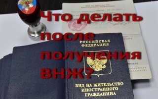 Получение ВНЖ в России в 2020 году. Что делать дальше?